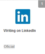 Wrinting On LinkedIn