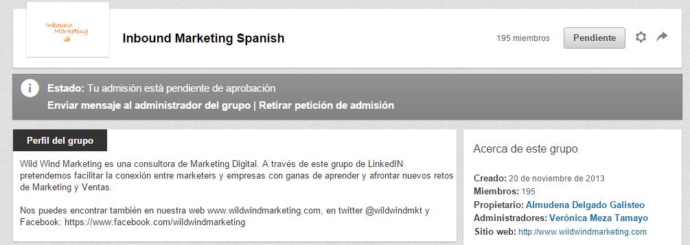 Unir grupo LinkedIn