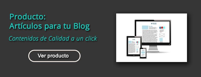 comprar artículos para blog